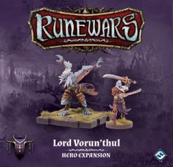 Runewars Miniatures Game: Lord Vorun'thul – Hero Expansion