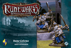 Runewars Miniatures Game: Rune Golems – Unit Expansion