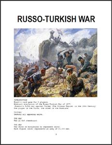 Russo-Turkish War