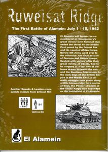 Ruweisat Ridge: The First Battle of Alamein