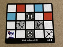 Sagrada: Promo 10 – Dice Tower 2020 Window Pattern Card
