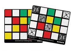 Sagrada: Promo 3 – International Tabletop Day Window Pattern Card