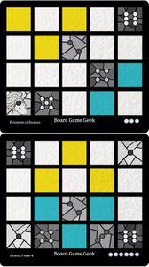 Sagrada: Promo 4 – BoardGameGeek Window Pattern Card