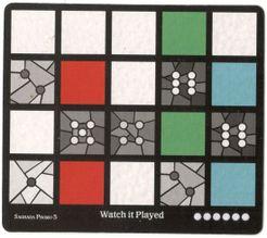 Sagrada: Promo 5 – Watch It Played Window Pattern Card