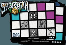 Sagrada: Promo 6 – Man Vs Meeple Window Pattern Card