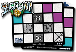 Sagrada: Promo – Man Vs Meeple Window Pattern Card