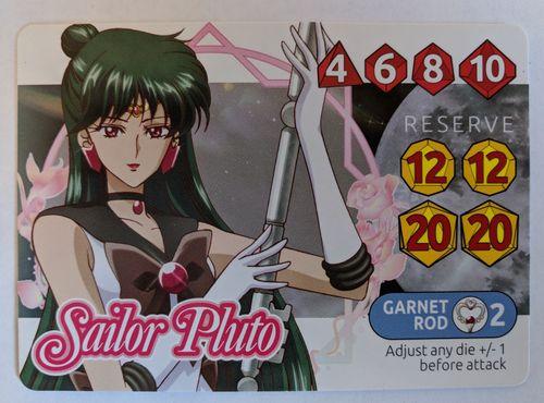 Sailor Moon Crystal: Dice Challenge – Sailor Pluto Promo
