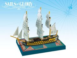 Sails of Glory Ship Pack: Commerce de Bordeaux 1785 / Duguay-Trouin 1788