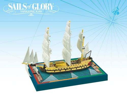 Sails of Glory Ship Pack: Duc de Duras 1765 / Dauphin 1766