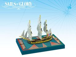 Sails of Glory Ship Pack: Embuscade 1798 / Le Succes 1801