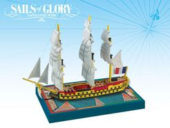 Sails of Glory Ship Pack: Fougueux 1785 / Redoutable 1791