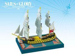 Sails of Glory Ship Pack: HMS Bellerophon 1786 / HMS Defiance 1783