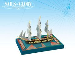 Sails of Glory Ship Pack: HMS Concorde 1783 / HMS Unite 1796