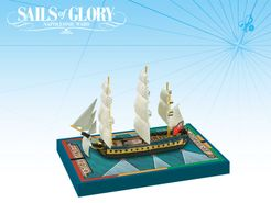 Sails of Glory Ship Pack: HMS Hamadryad 1797 / HMS Mahonesa 1796