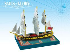 Sails of Glory Ship Pack: HMS Impetueux 1796 / HMS Spartiate 1798