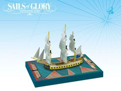 Sails of Glory Ship Pack: HMS Juno 1780 / HMS Castor 1785