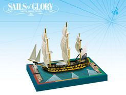 Sails of Glory Ship Pack: HMS Leander 1780 / HMS Adamant 1780