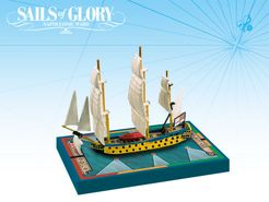 Sails of Glory Ship Pack: HMS Leopard 1790 / HMS Isis 1774
