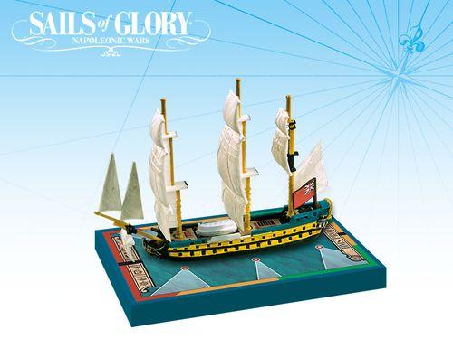 Sails of Glory Ship Pack: HMS Prothee 1780 / HMS Argonaut 1782 Ship Pack