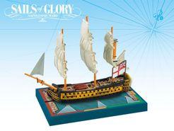 Sails of Glory Ship Pack: HMS Queen Charlotte 1790 / HMS Ville de Paris 1795