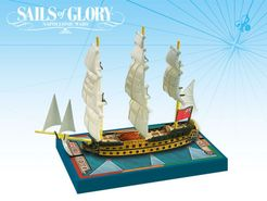 Sails of Glory Ship Pack: HMS Zealous 1785 / HMS Superb 1760