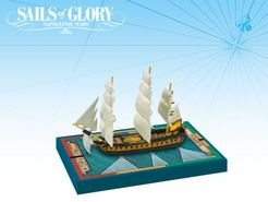 Sails of Glory Ship Pack: Mahonesa 1789 / Ninfa 1795