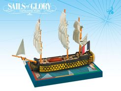 Sails of Glory Ship Pack: Orient 1791 / L'Austerlitz 1808