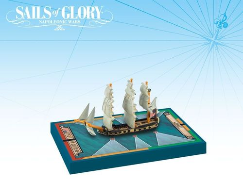 Sails of Glory Ship Pack: Thorn 1779 / USS Atlanta 1781