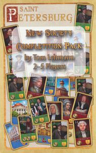Saint Petersburg (second edition): New Society Completition Pack
