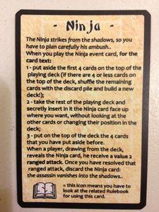 Sake & Samurai: Ninja Cards