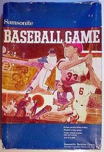 Samsonite Baseball Game