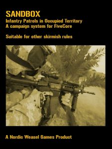 Sandbox: Infantry Patrols in occupied territory – A campaign system for FiveCore
