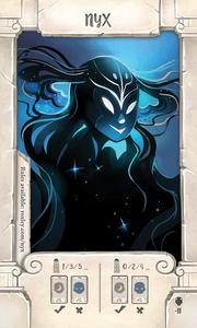 Santorini: Nyx Promo Card