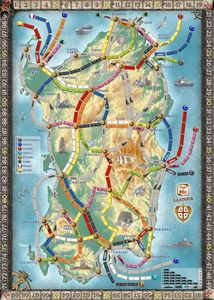 Sardinia (fan expansion for Ticket to Ride)