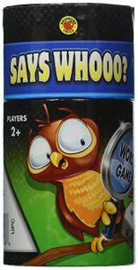 Says Whooo?