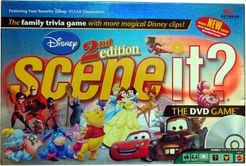 Scene It? Disney Second Edition