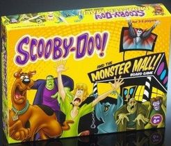 Scooby-Doo! and the Monster Mall Board Game