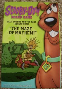 Scooby-Doo! Board Game:  The Maze of Mayhem!