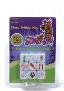 Scooby Doo Story Telling Dice