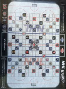 Scrabble NHL Edition