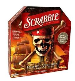 Scrabble: Pirates of the Caribbean Edition
