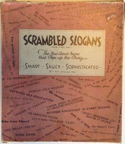 Scrambled Slogans
