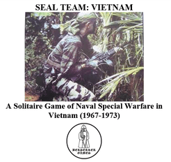 Seal Team: Vietnam – A Solitaire Game of Naval Special Warfare in Vietnam