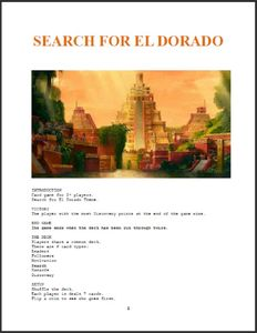 Search for El Dorado