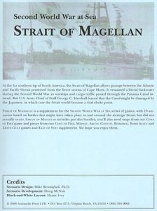 Second World War at Sea: Strait of Magellan