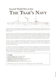 Second World War at Sea: The Tsar's Navy