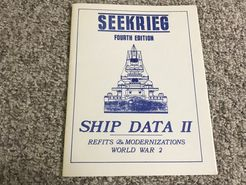 Seekrieg (Fourth Edition): Ship Data II – Refits & Modernizations World War 2