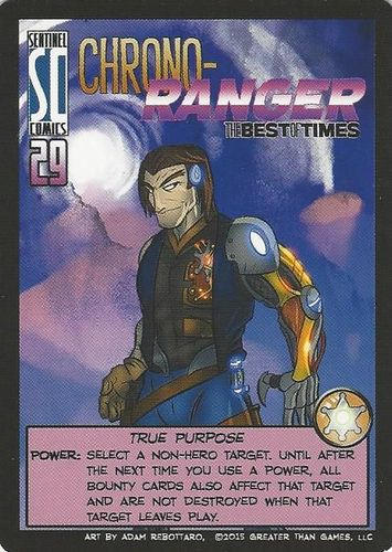 Sentinels of the Multiverse: Chrono-Ranger – The Best of Times Promo Card