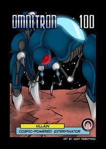 Sentinels of the Multiverse: Cosmic Omnitron Villain Promo Card