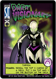 Sentinels of the Multiverse: Dark Visionary Promo Card